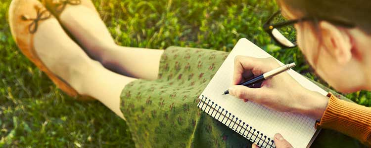 Woman Reading a Novel