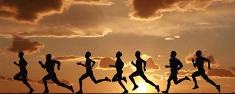 Running Against the Sun Set